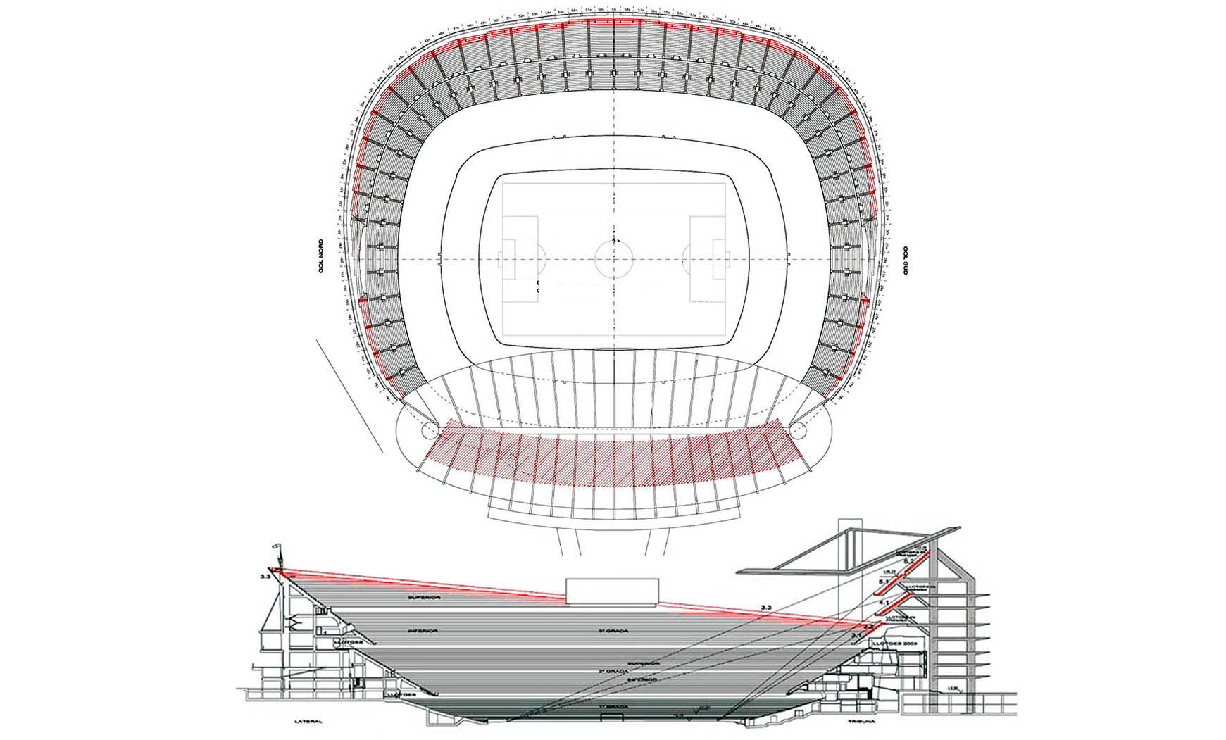 Propuesta de ampliación del Camp Nou (Estudio Técnico), 2010