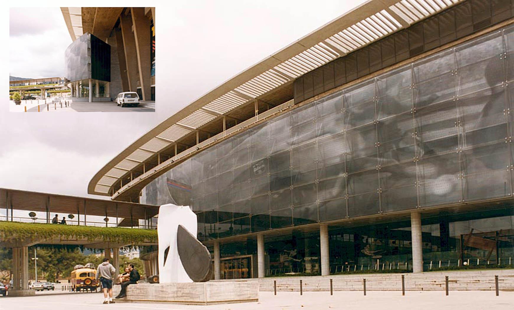 Ampliación del Museo F.C.B. y vestíbulo de la tribuna principal (1997), en colaboración con F. Mitjans y SCB