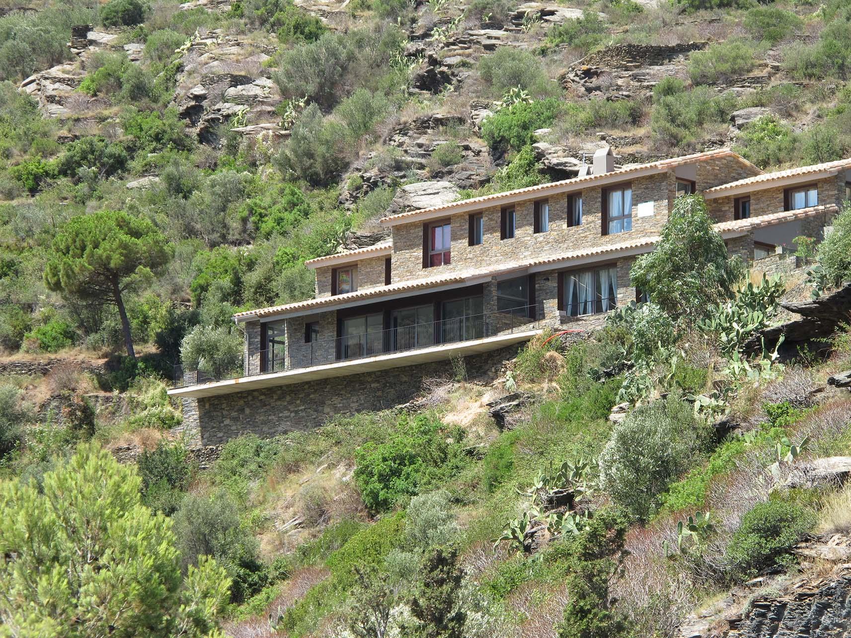 Conjunto de 4 viviendas en Cadaqués, Gerona (2013)