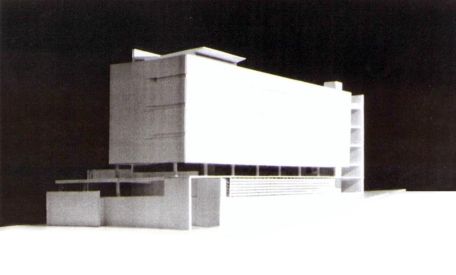 Comisaría Cuartel Girona en c. Marina, Barcelona. Proy. ejecutivo, 1992. En colab. con EGC/ABS