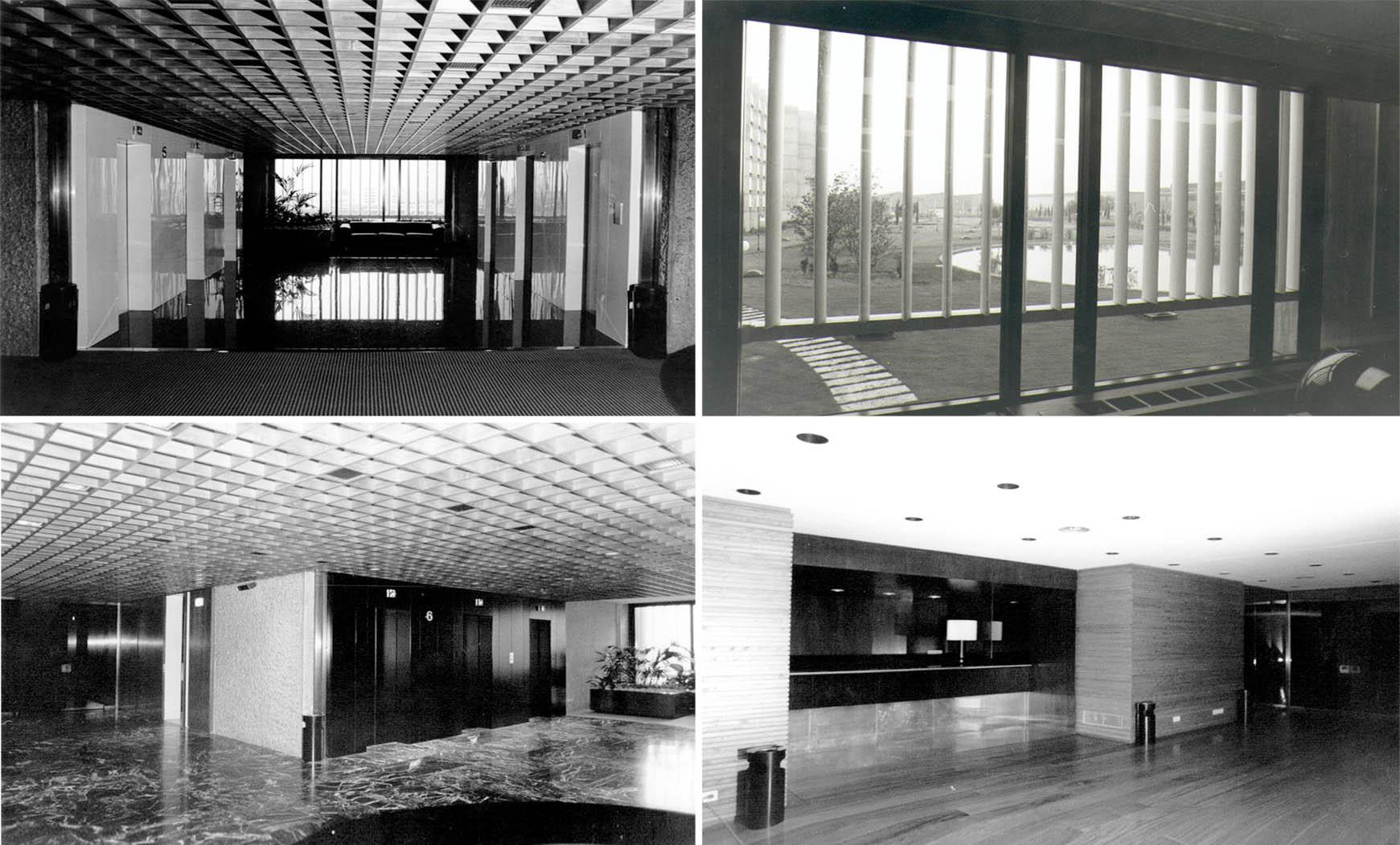 Remodelación oficinas para traslado sede Consorcio Zona Franca (1986), en colab. con F. Mitjans y BBCC