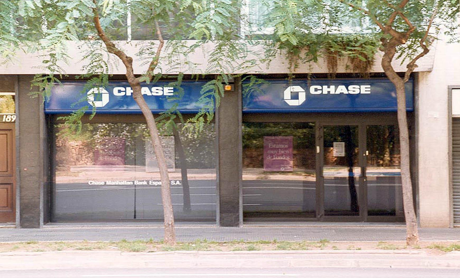 Reforma para sede del Chase Manhattan Bank en Barcelona (1985)
