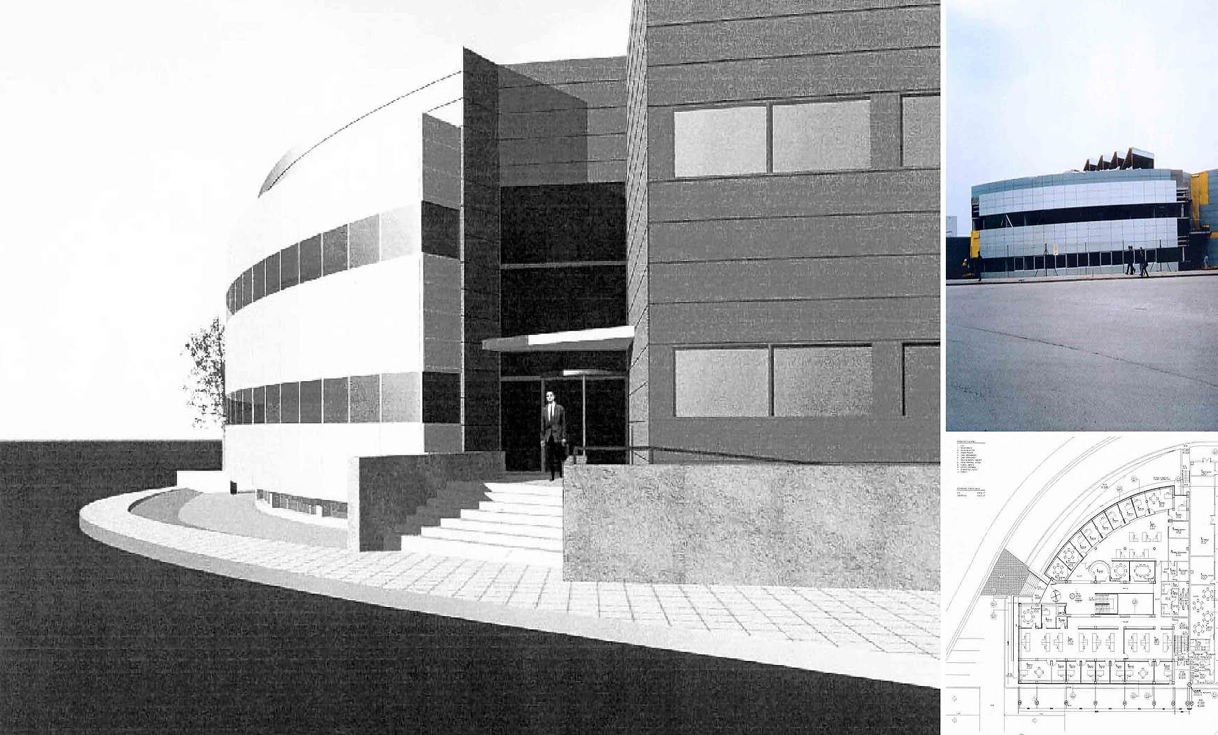 Oficinas y factoría Vileda en Parets del vallès, Barcelona (1996), en colaboración con EGC