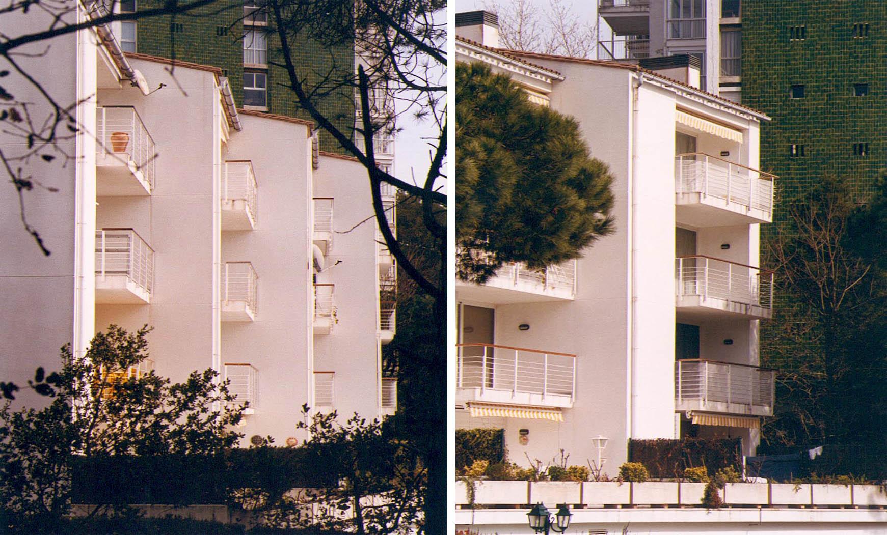16 apartamentos en Platja d'Aro (1988), en colaboración con Francesc Mitjans