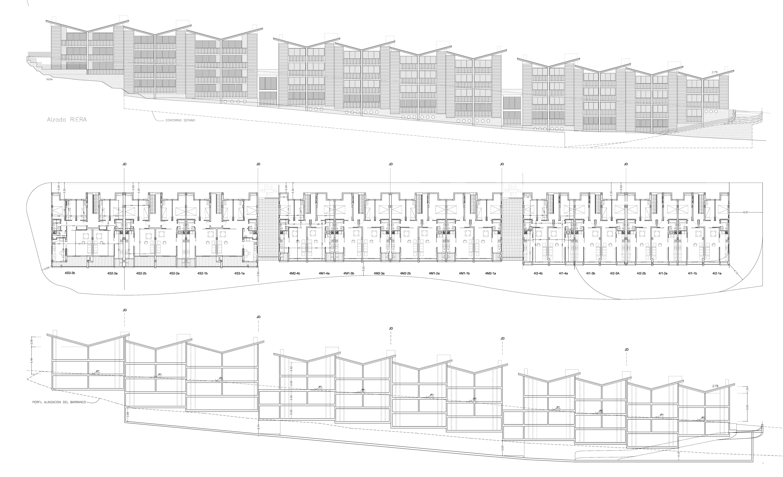 76 viviendas y aparcamiento subterráneo en Gran Canaria. Proyecto ejecutivo, 2007.